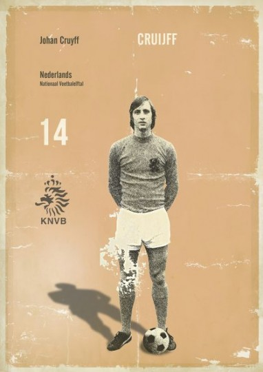 Affiche Cruyff