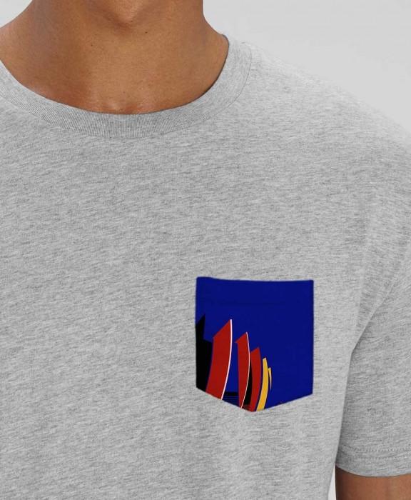 T-shirt Poche Parc