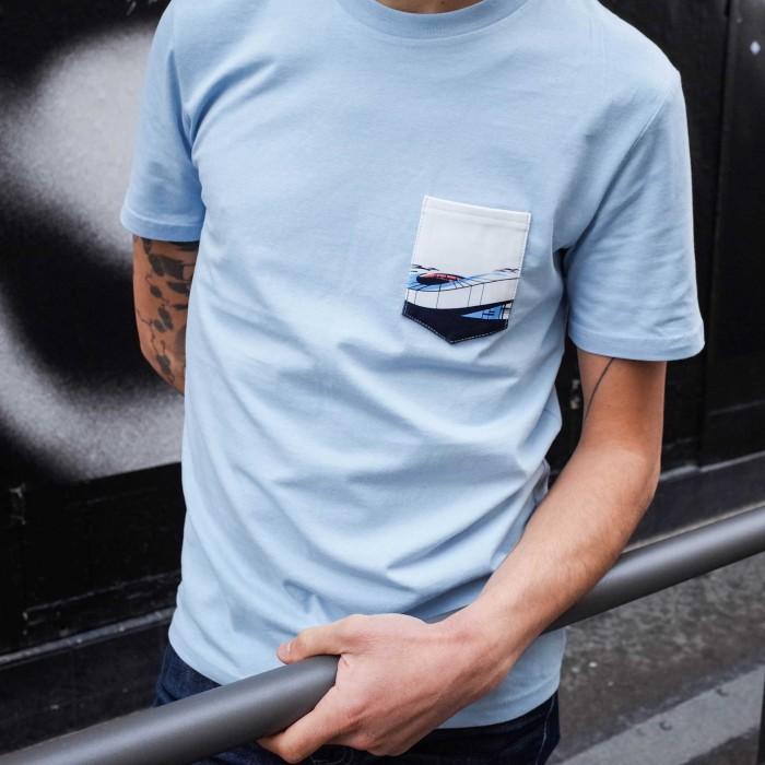 T-shirt poche stade Vélodrome