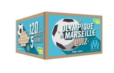 Olympique de Marseille Quiz - 120 cartes, 5 thèmes