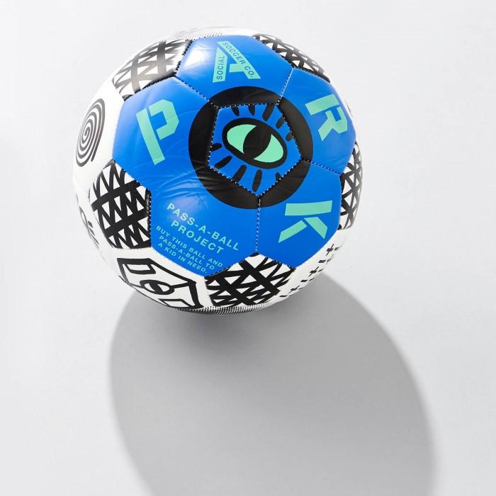 Ballon de foot PARK bleu