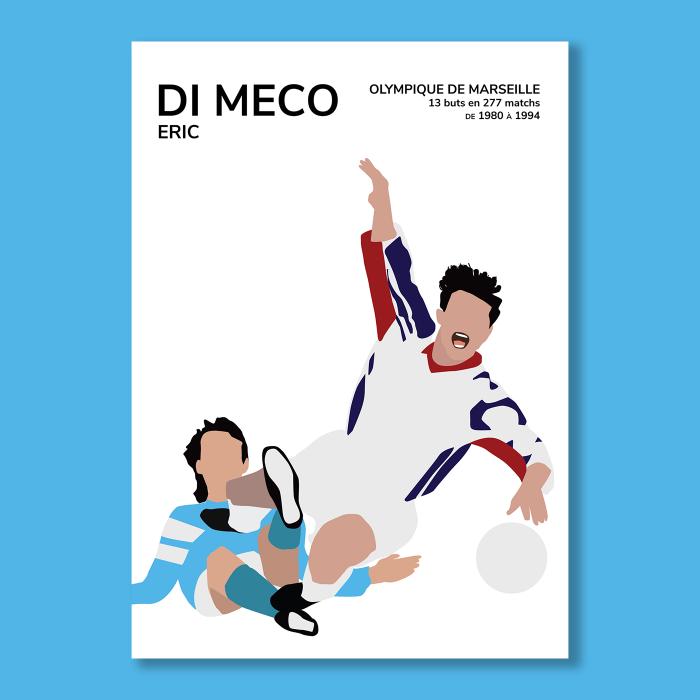 Affiche Foot Eric Di Meco