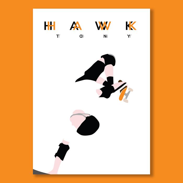 Affiche Skate Tony Hawk