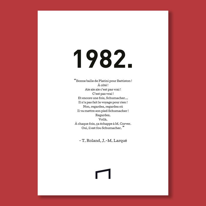 Affiche Citation - T. Roland 1982