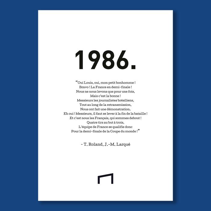 Affiche Citation - T. Roland 1986