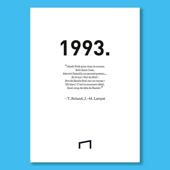 Affiche Citation - T. Roland 1993