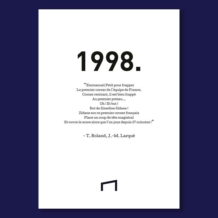 Affiche Citation - T. Roland 1998