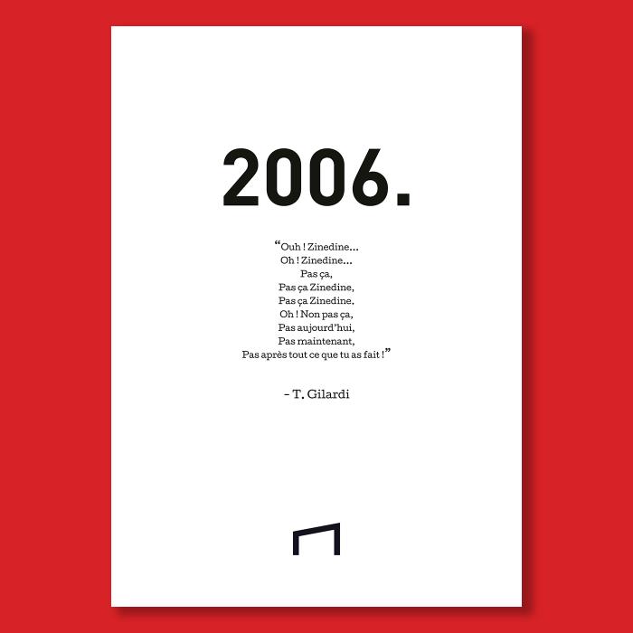 Affiche Citation - T. Gilardi 2006
