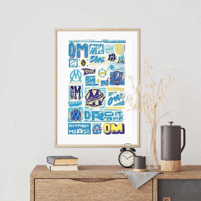 Affiche OM Collector - Héritage