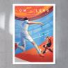 Affiche Match Foot OM / RC LENS