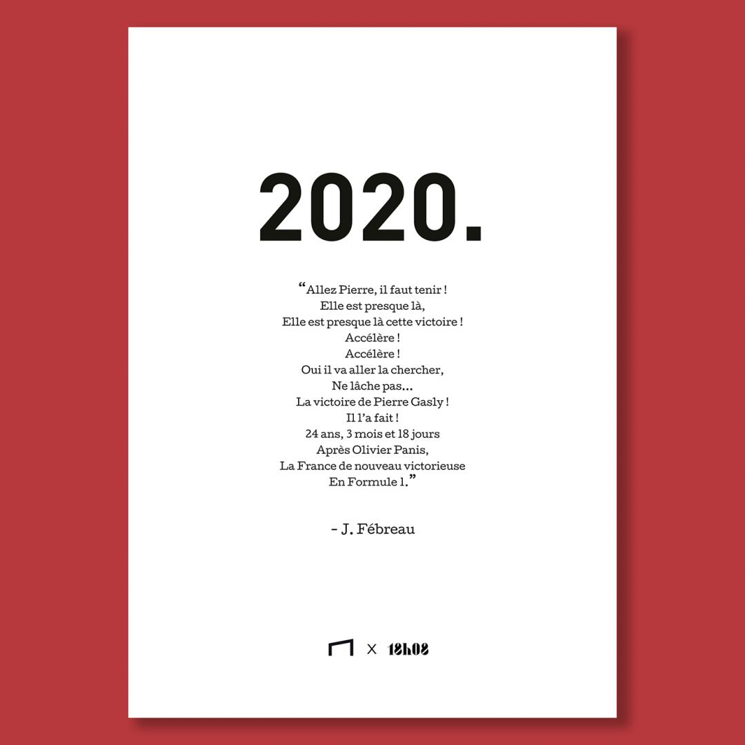 Affiche Citation - J. Fébreau 2020