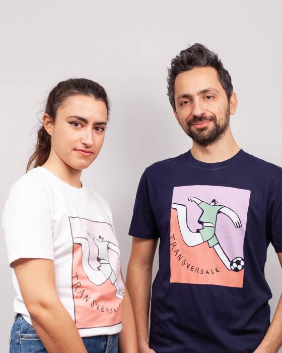T-shirt Transversale by Pauline - Couleur