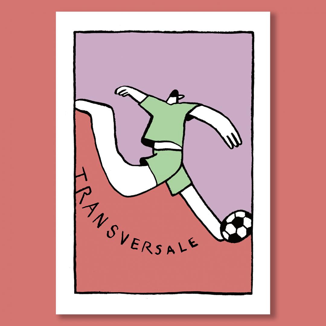 Affiche Transversale by Pauline