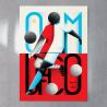 Affiche Match Foot OM/ DFCO