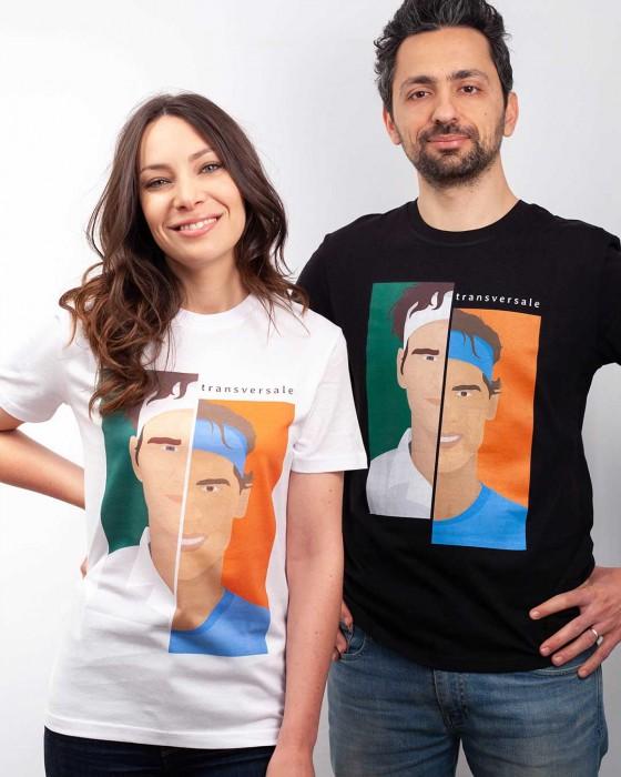 T-shirt Roger vs Rafa