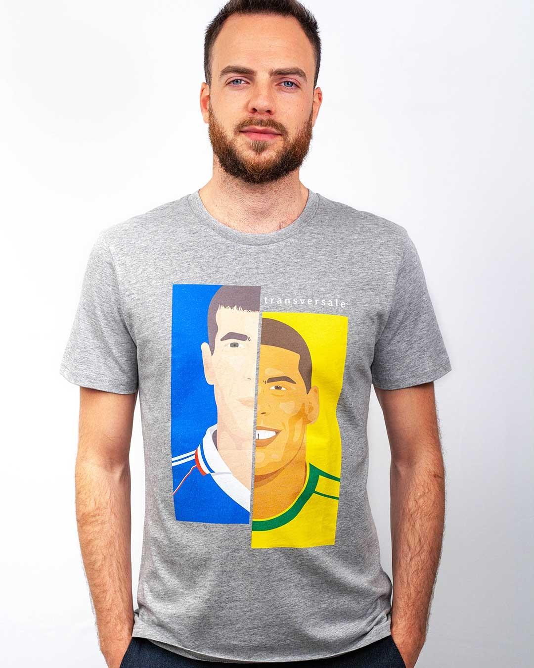 T-shirt Zinedine vs Ronaldo
