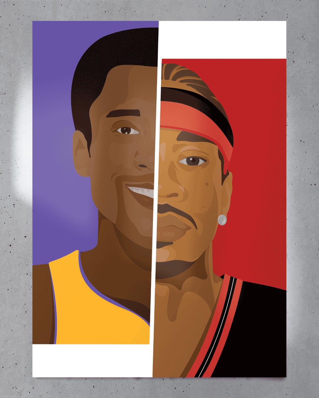 Affiche Kobe vs Alle