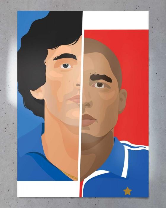 Affiche Héros de l'Euro