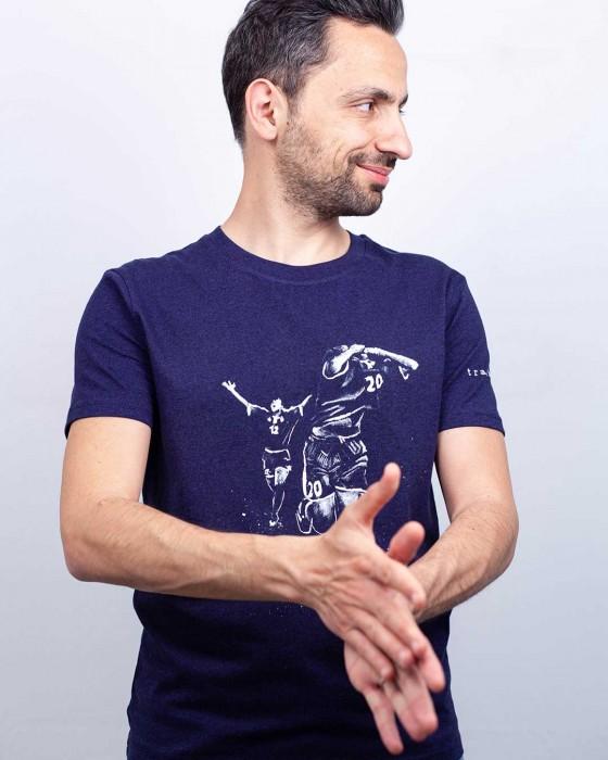 T-shirt Duo en Or