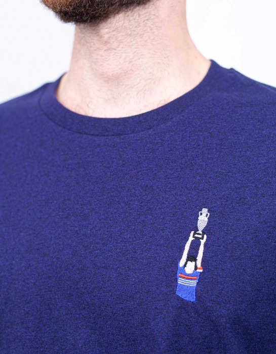 T-shirt Michel Platini (brodé)