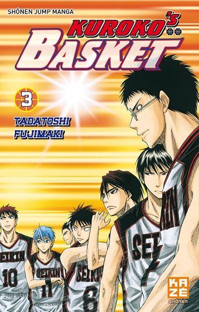 Kuroko's Basket Tome 3