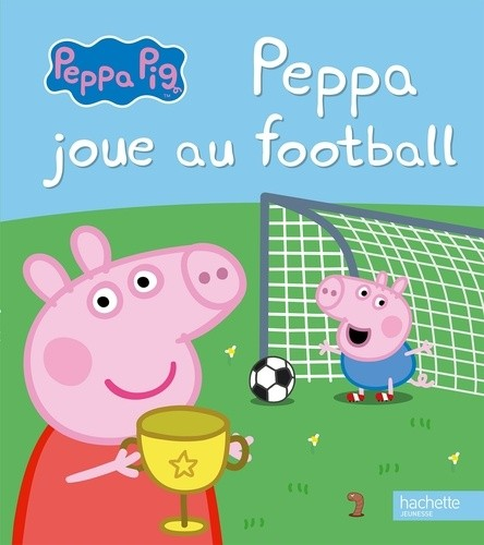 Peppa joue au football