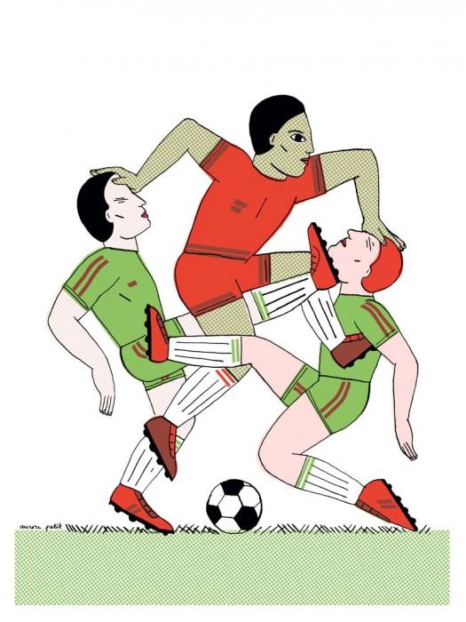 """Affiche """"Football"""""""