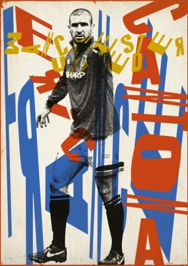 Affiche Cantona 2