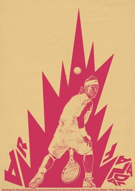 Affiche Rafael Nadal