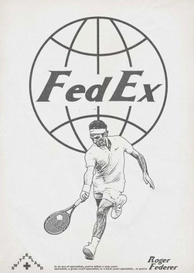 Affiche Roger Federer
